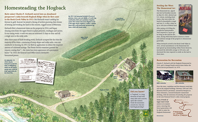 Rock Creek Hogback